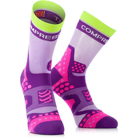 Compressport Racing Ultralight Run - Chaussettes course à pied - violet